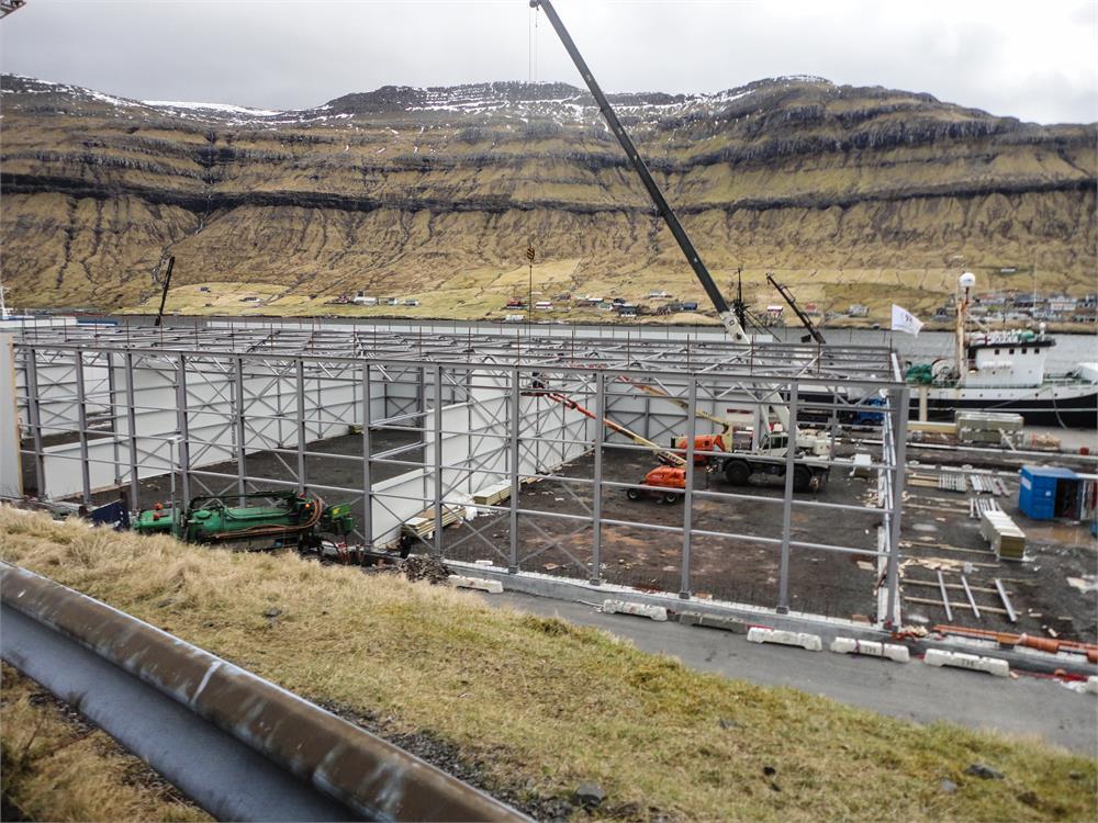 Fish Cold Storage Facility On Faroe Islands Image8